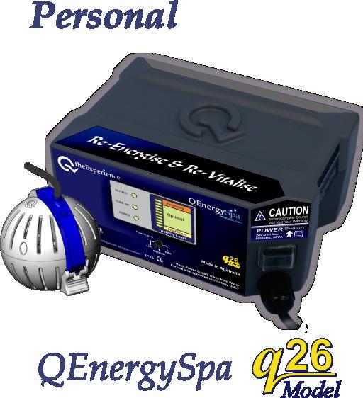 QEnergySpa, BEFE Personal Model q26
