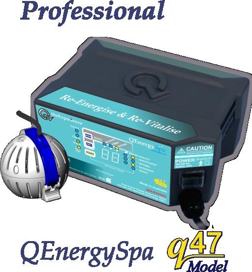 QEnergySpa, BEFE Professional Practitioner Model q47